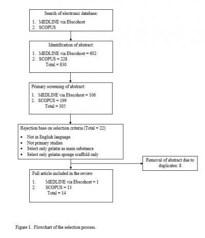Figure 1: Flowchart of the selction process